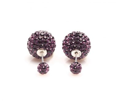 11014 Double Dots Amethyst Crystal