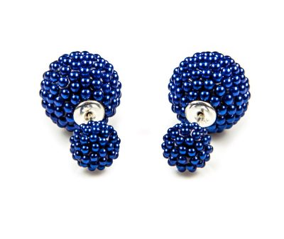11059 Double Dots Blue Spike