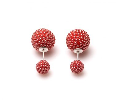 11101 Double Dots Coral Spike