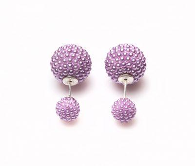 11102 Double Dots lila Spike