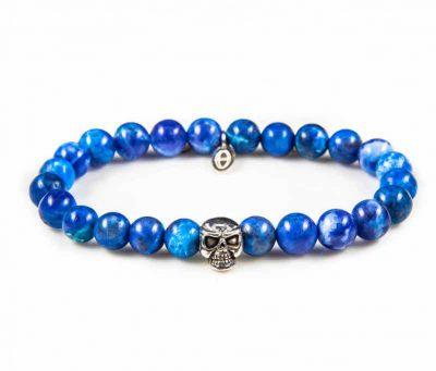 86004 Blue Waters Skull